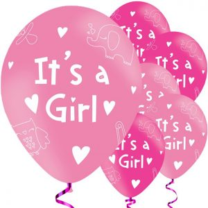 It's a girl ilmapallot