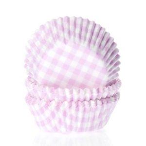 Pinkkiruudulliset kuppikakkuvuoat