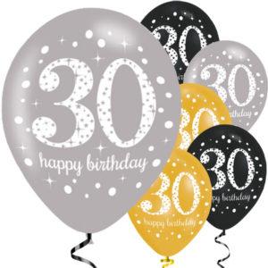 30-vuotispallot