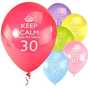 30-vuotispallot, keep calm