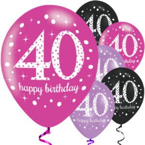 40-vuotispallot, pinkit