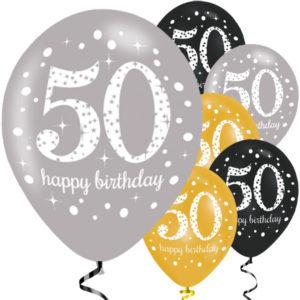 50-vuotispallot