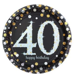 40-vuotis-lautaset