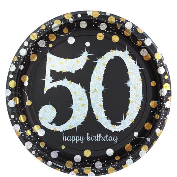 50-vuotis-lautaset