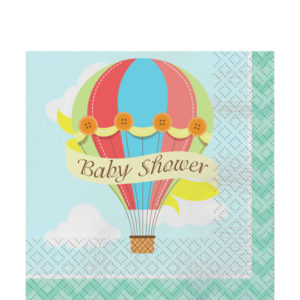 Baby shower lautasliinat