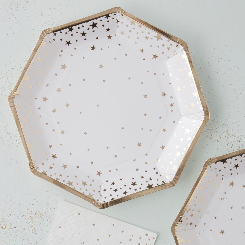 Kultatähti lautaset