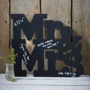 Mr&Mrs liitutauluvieraskirja