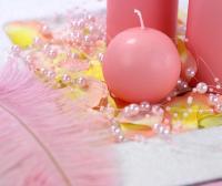 Koristehelminauha vaaleanpunainen