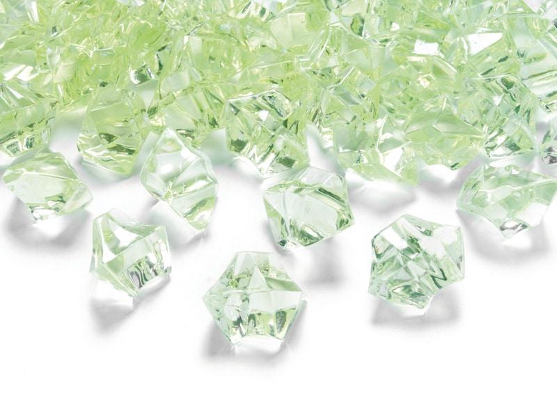 Vaaleanvihreä lasimurska