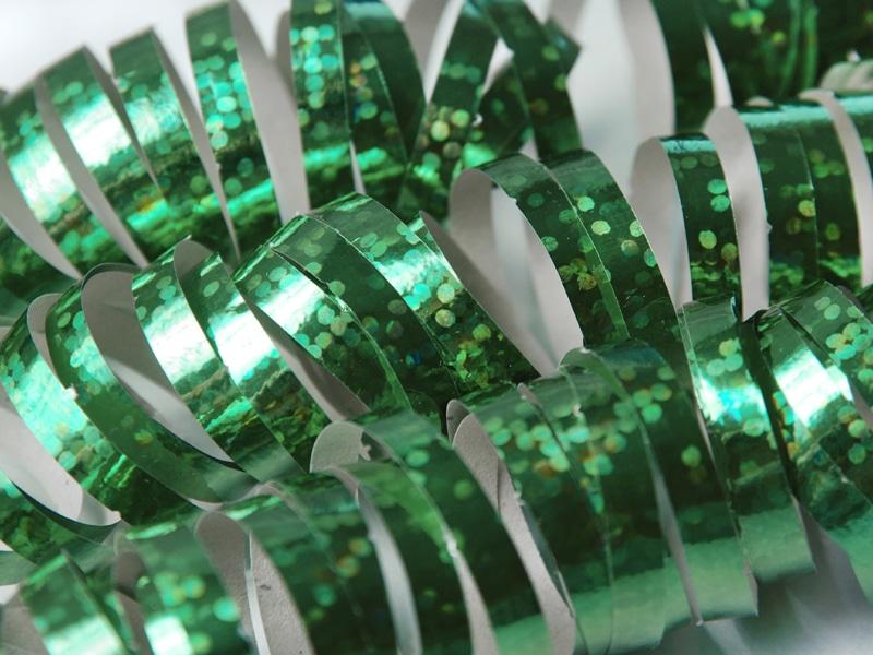Vihreä yksipuolinen holografiserpentiini