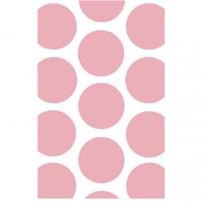 Paperipussit vaaleanpunainen polka dot