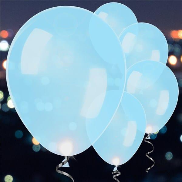 Led ilmapallot sininen