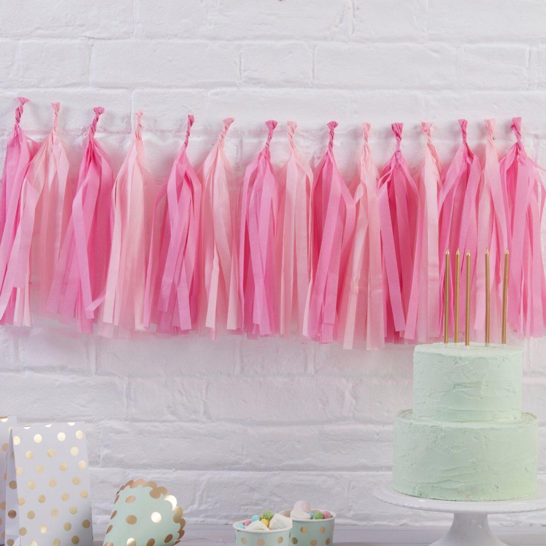 Pinkki tasselinauha