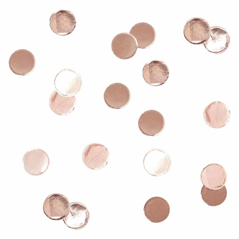 Ruusukultaiset konfetit