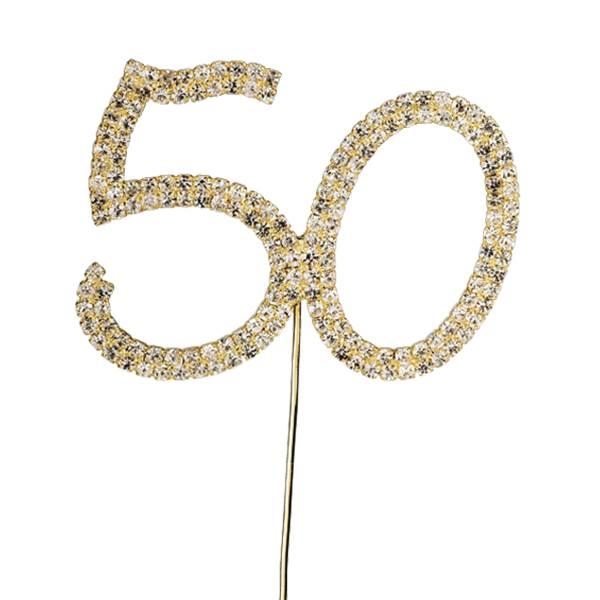 Timanttinen 50-vuotiskoriste