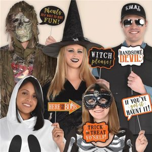 Halloween photobooth
