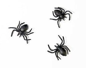 Mustat muovihämähäkit