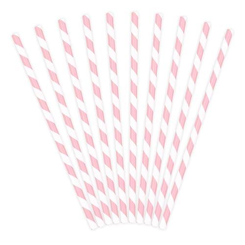 Vaaleanpunaraitaiset paperipillit
