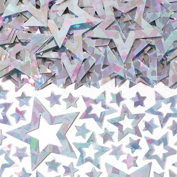 Sateenkaarenhohtoinen tähtikonfetti