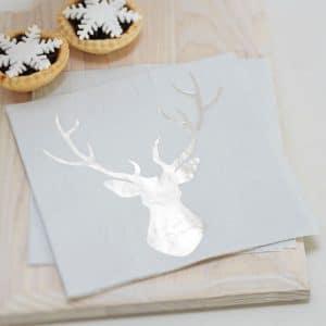 Silver Deer lautasliina