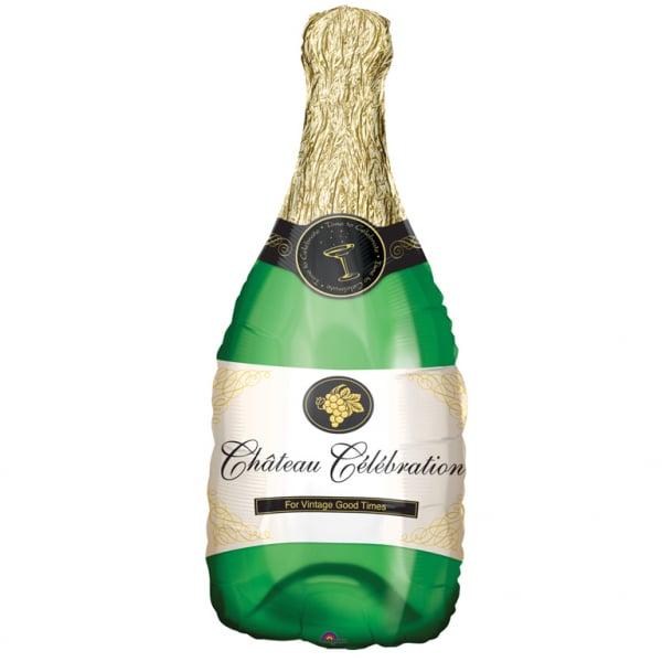 Foliopallo iso shampanjapullo