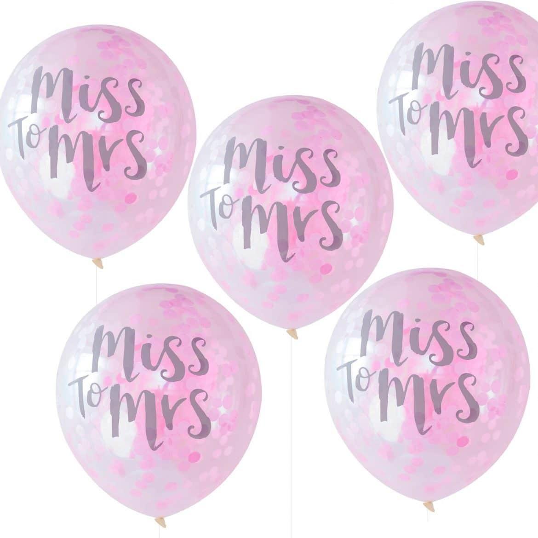 Miss to Mrs ilmapallot