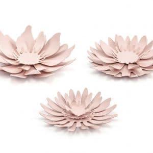 Haalean roosat paperikukat mix