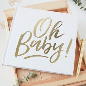 Oh baby vieraskirja