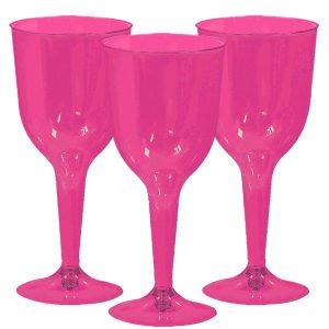 Pinkit viinilasit