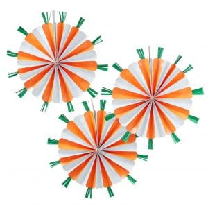 Porkkana paperiviuhkat