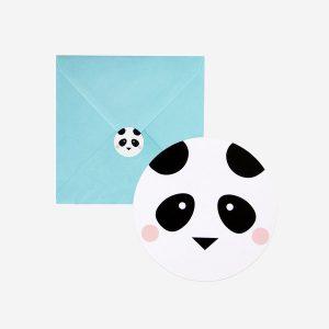 Kutsukortit panda