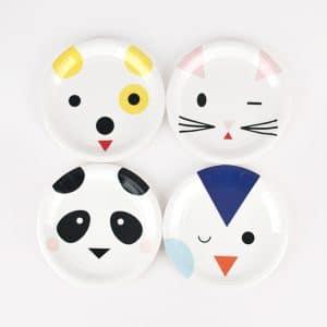 Panda ja kamut lautaset