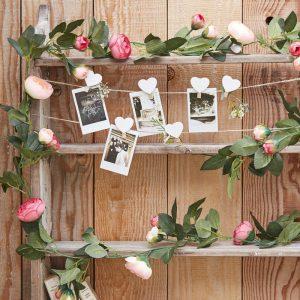 Ruusuköynnös - pinkit kukat