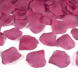 Ruusun terälehdet pinkki