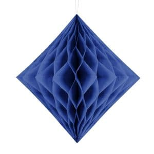 Timanttikenno tummansininen 30 cm
