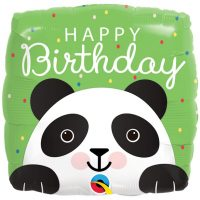 Happy Birthday panda foliopallo
