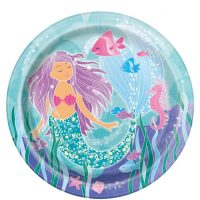Magical mermaid isot lautaset