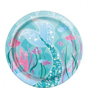 Magical mermaid jälkiruokalautaset