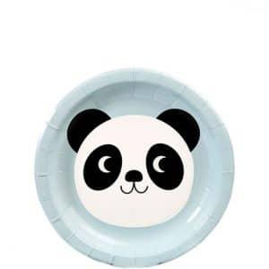 Panda jälkiruokalautaset