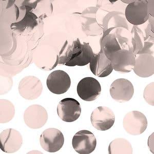 Ruusukultaiset foliokonfetit