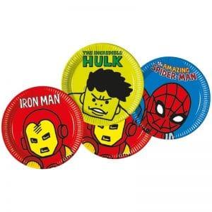 Marvel Avengers pahvilautaset