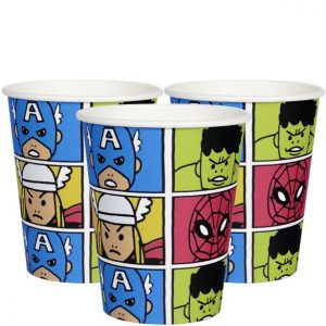 Marvel Avengers pahvimukit