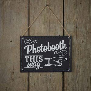 Photobooth-kyltti