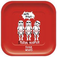 Star Wars kulmikkaat lautaset