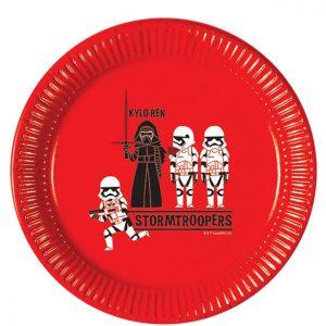 Star Wars pyöreät lautaset