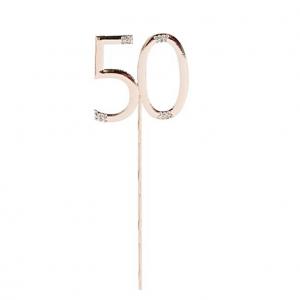 50-vuotiaan kakkukoriste, ruusukulta