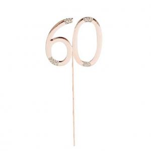 60-vuotiaan kakkukoriste, ruusukulta