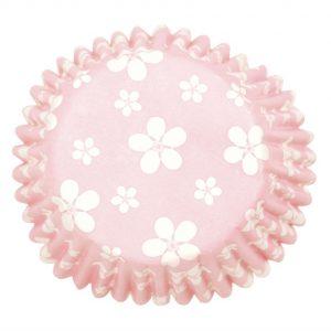 Muffinivuoat pinkki kukka