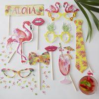 Flamingo photobooth