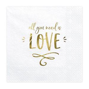 Lautasliinat all you need is love